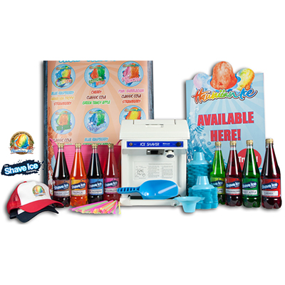 Featured package. Hawaiian Ice 220v starter package.