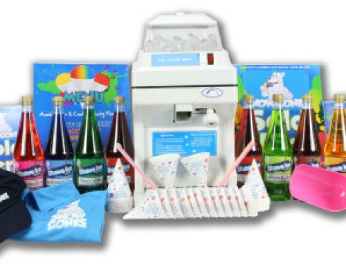 Featured package – Snow Cones starter package 220v