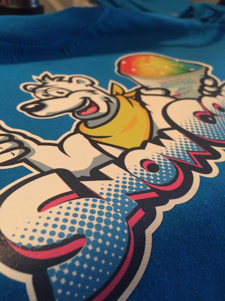 Snow Cones t-shirt print