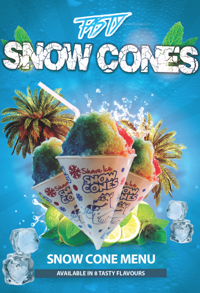 Snow Cones promotional poster