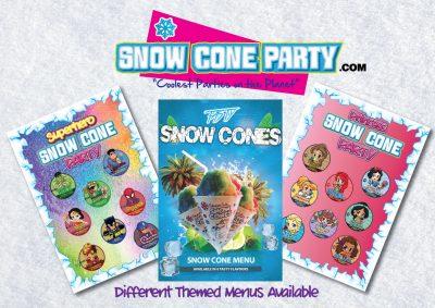 Snow Cone party