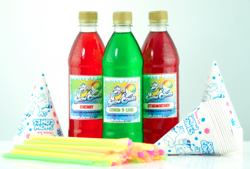 Home Snow Cone 'Candy Crush' 3 x 500ml pack