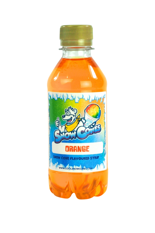 Orange 250ml Snow Cone Syrup