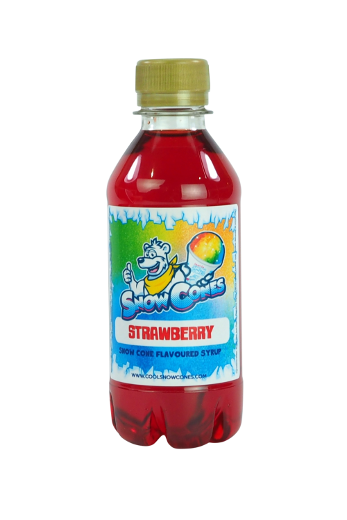 Strawberry 250ml Snow Cone Syrup