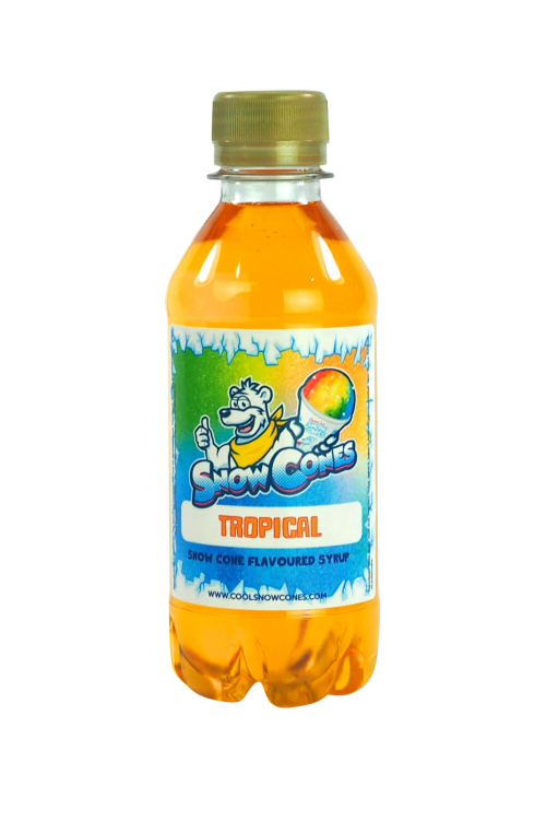 Tropical 250ml Snow Cone Syrup