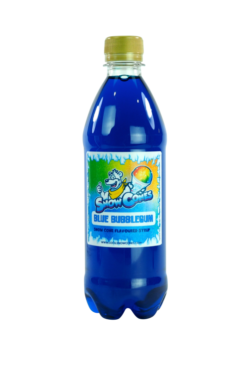 Blue Bubblegum 500ml Snow Cone Syrup