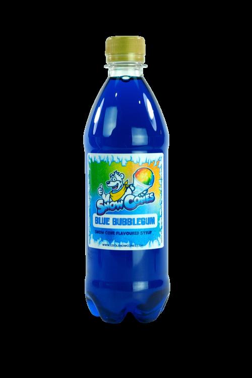 Blue Bubblegum 500ml Snow Cone Syrup