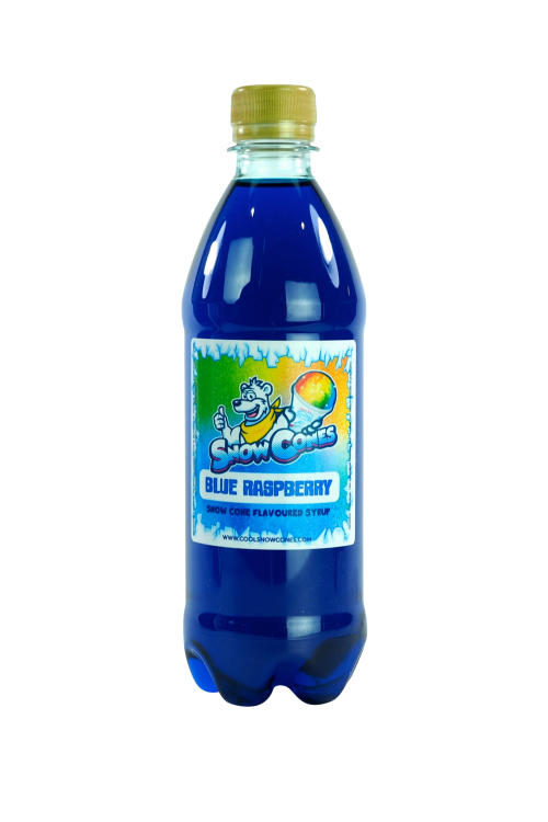 Blue Raspberry 500ml Snow Cone Syrup