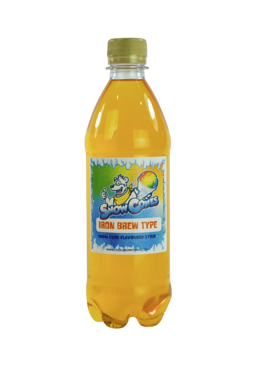 Iron Brew 500ml Snow Cone Syrup