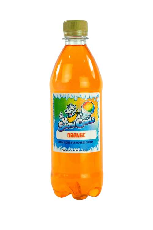 Orange 500ml Snow Cone Syrup