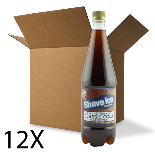 Case of Classic Cola Shave Ice/Snow Cone Syrup