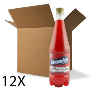 Case of Cotton Candy Shave Ice/Snow Cone Syrup