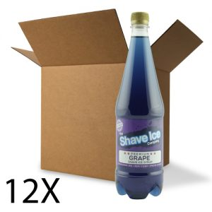 Case of Grape Shave Ice/Snow Cone Syrup