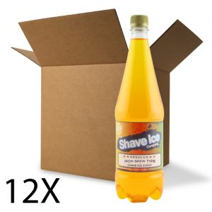Case of Iron Brew Shave Ice/Snow Cone Syrup
