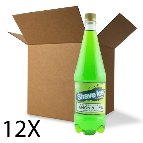 Case of Lemon & Lime Shave Ice/Snow Cone Syrup