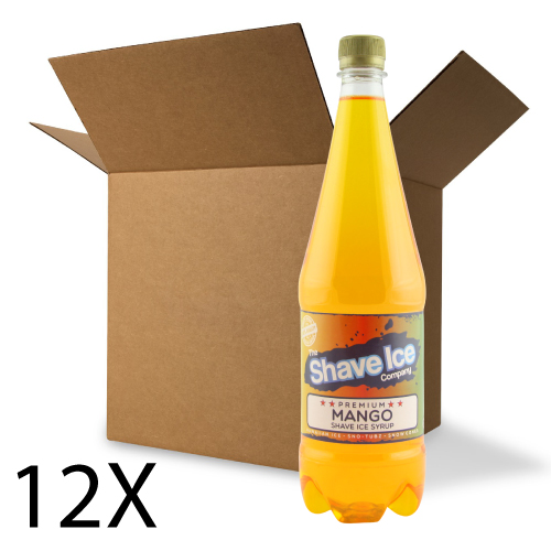 Case of Mango Shave Ice/Snow Cone Syrup