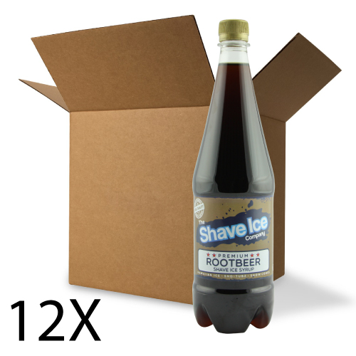 Case of Root Beer Shave Ice/Snow Cone Syrup