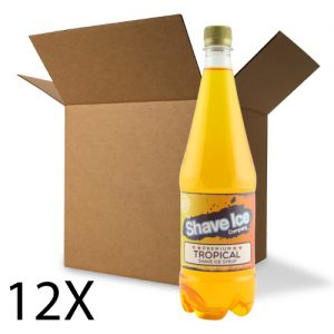 Case of Tropical Shave Ice/Snow Cone Syrup