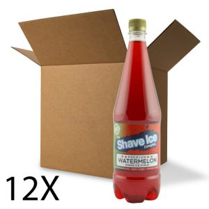 Case of Watermelon Shave Ice/Snow Cone Syrup
