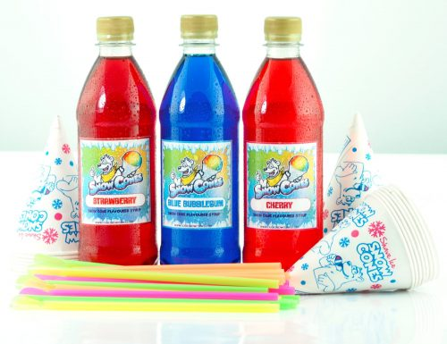 Home Snow Cone 'The Shark Bite' 3 x 500ml pack